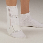 Leatherette Ankle Brace