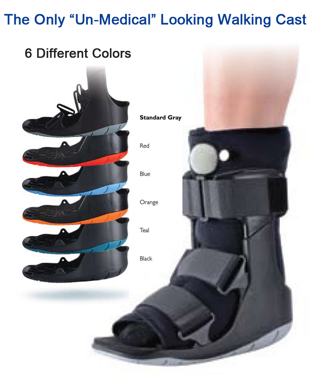 ovation air walking cast boot choice of color