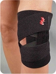 TK Patellar Stabilizing Knee Wrap with Derotation Strap