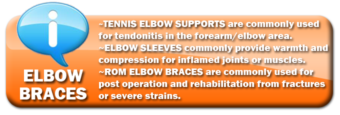 Tennis Elbow Brace | ROM Elbow Brace | Elbow Supports