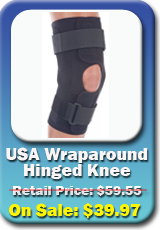 Hinged Knee Braces | Range of Motion Hinged Knee Supports