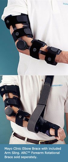 Discount Mayo Clinic Elbow Brace Elbow Rom Braces Amp Supports