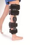 PCL Fource Post Op ROM Hinged Knee Brace