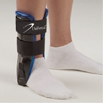 Air/Gel Ankle Stirrup Black & Blue