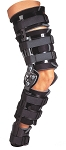 Telescoping TROM with Shells Post Op Knee Brace