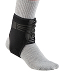 Ankle Lacer Support Brace, Ankle Stabilizer Brace, One Size, Black