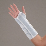 Universal Foam Wrist and Wrist/Forearm Splint