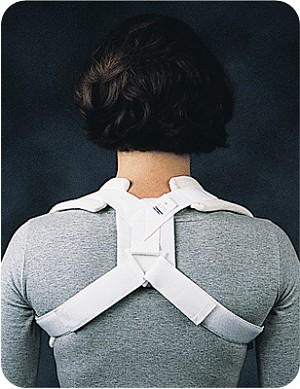 Comfor™ Clavicle Brace - Hook and Loop Closure