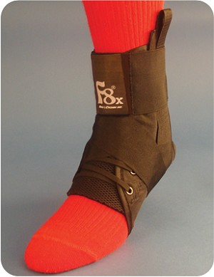 F8® X Ankle Brace Lace-up with Straps (extra sizing)