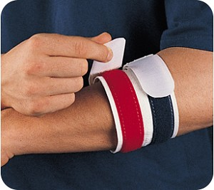 The Back Spin - Dual Closure Tennis Elbow Support