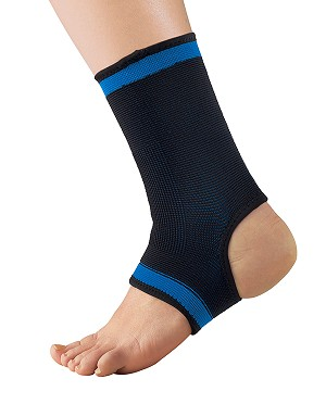 iGO Elastic Ankle Support, Ankle Stabilizer, Ankle Compression Brace, Left or Right