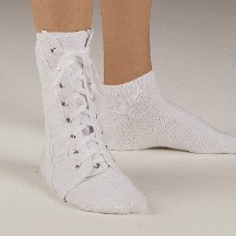 Canvas Lace-Up Ankle Brace