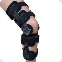 Revolution 3 Post Op Hinged Knee Brace